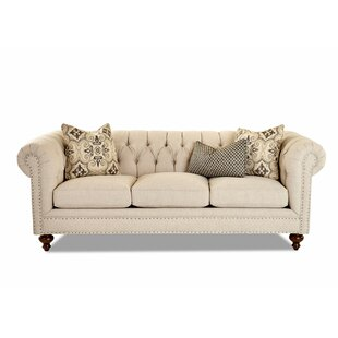 Kavya Chesterfield Sofa Canora Grey