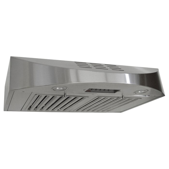 30 Brillia 400 Cfm Ductless Under Cabinet Range Hood