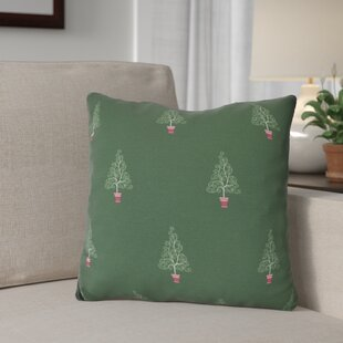 Filigree Forest Throw Pillow
