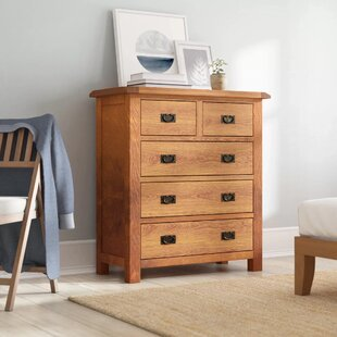Benjamin 5 Drawer Chest By Union Rustic