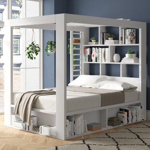 Gage European Kingsize Canopy Bed By Ebern Designs