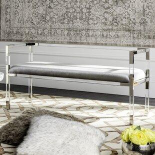 Willa Arlo Interiors Blanchard Upholstered Bench