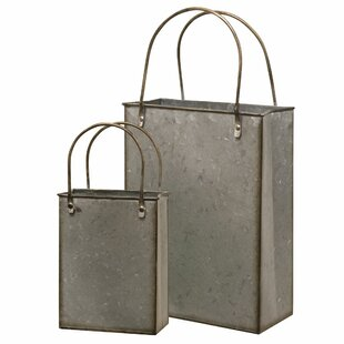 Reviews Totes 2 Piece Metal Basket Set By Gracie Oaks