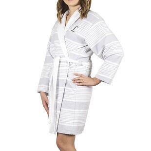 1edc3a5f29 Milton Single Initial 100% Turkish Cotton Terry Cloth Bathrobe