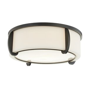 Brayden Studio Tamesbury 3-Light Flush Mount