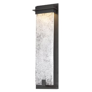 Compare & Buy Lafrance 1-Light LED Outdoor Sconce By Winston Porter