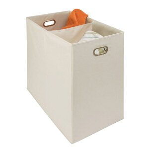 Richards Homewares Gearbox Oval Eyelet 2 Compartment Laundry Hamper