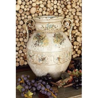 World Menagerie Gilda Round Water Floor Vase Reviews Wayfair