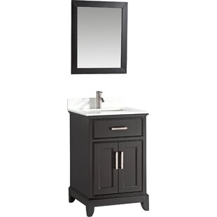 Save Gracie Oaks Cloran 24 Single Bathroom Vanity