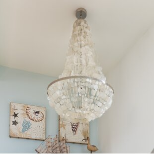 Manor Capiz Seashell 3-Light Chandelier by Kouboo
