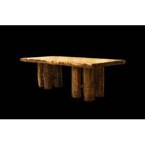 Aspen Stump Base Dining Table by Utah Mountain