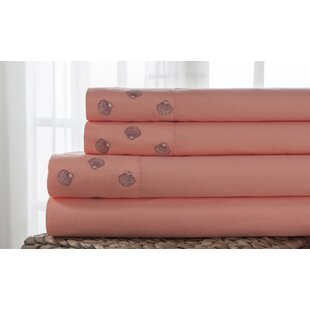 Hotel 4 Piece Emboidered Sheet Set