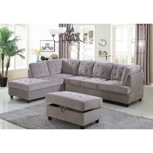 Borchert Sectional with Ottoman