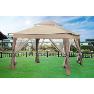 Bayfield 10 Ft. W x 10 Ft. D Patio Gazebo by Sol 72 Outdoor
