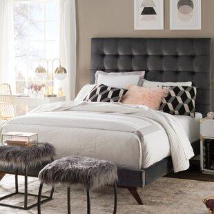 Amaral Velvet Upholstered ..