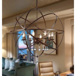 Warehouse of Tiffany Jossie 8-Light Pendant