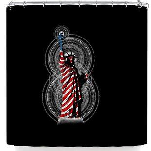 East Urban Home BarmalisiRTB Liberty Shower Curtain