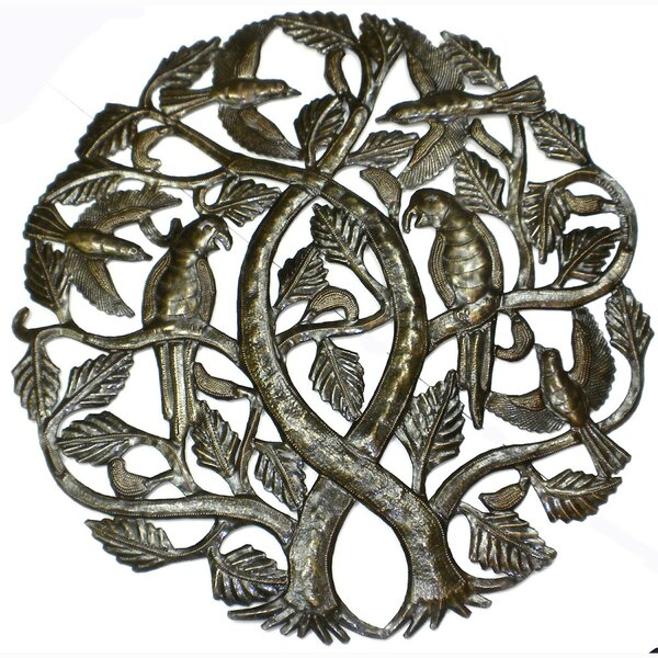 Bloomsbury Market \'Tree of Life\' Traditional Metal Wall Décor | Wayfair