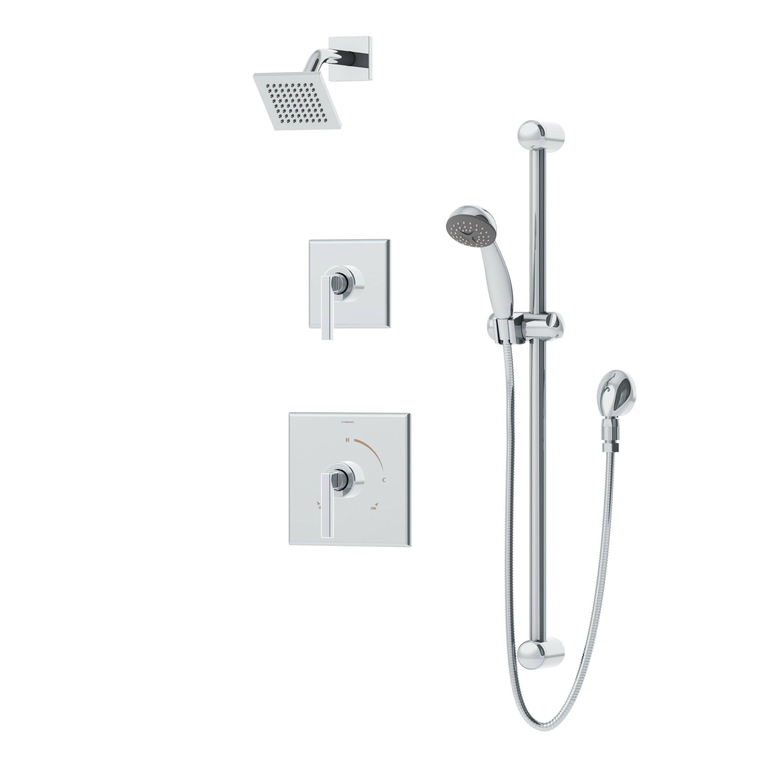 Symmons Duro 2 Handle Shower Valve Trim Kit Wayfair