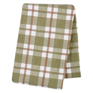 Find for Troxel Plaid Deluxe Flannel Swaddle Blanket ByHarriet Bee