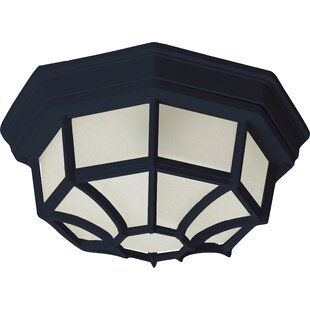 Order Nordica 1-Light Flush Mount By Rosecliff Heights