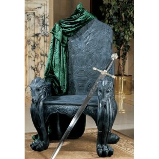 Celtic Dragon Throne Armchair by Design Toscano Office Furniture