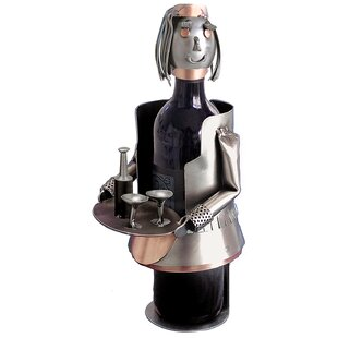 French Maid 1 Bottle Tabletop Wine Rack b..