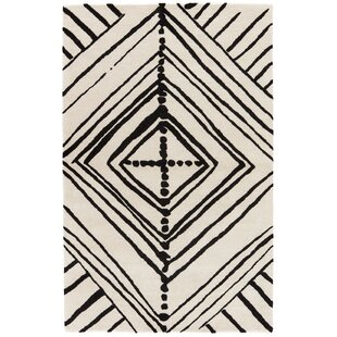 Find Gemma Geometric Handmade White Area Rug By Nikki Chu
