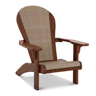 Browner Teak Adirondack Chair by Highland Dunes