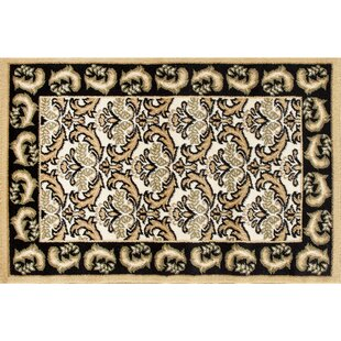 Northwest Hills Black/Beige Indoor/Outdoor Area Rug