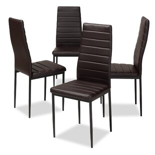 Orren Ellis Hary Upholstered Dining Chair (Set of 4)