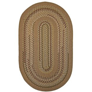 Zariah Rod Gold/Tan Indoor/Outdoor Area Rug