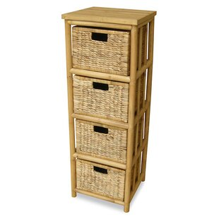 Agee Open Sides 4 Drawer Accent Chest
