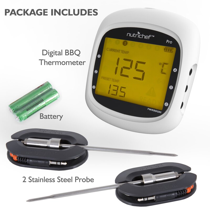 Backyard Grill Digital Meat Thermometer - House of Things ...
