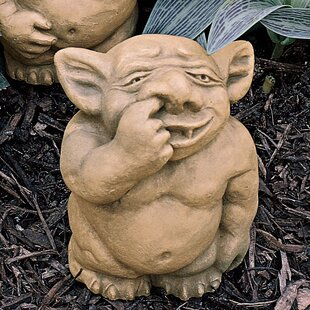 The Picc A Dilly Nose Gargoyle Statue