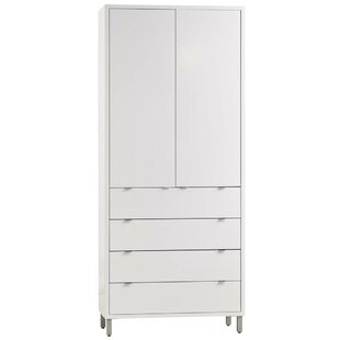 Latitude Run Southville 4 Drawer Armoire