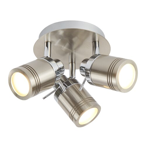 Marceline 3-Light LED Ceiling Spotlight Borough Wharf Fixtur