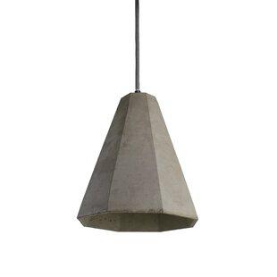 III 1-Light Cone Pendant by Urbanest