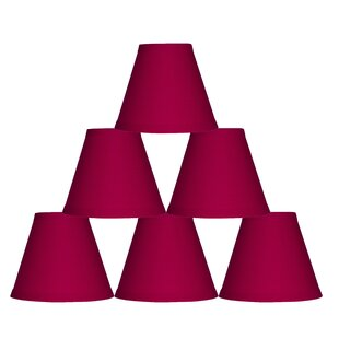 Compare 6 Cotton Empire Lamp Shade (Set of 6) By Symple Stuff