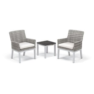 Lambright 3 Piece Conversation Set With Cushions by Latitude Run Savings