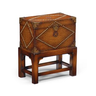 Studded End Table with Storage by Wildwood