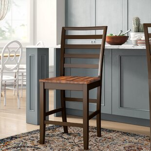Compare prices Hidalgo 24 Bar Stool (Set of 2) by Millwood Pines Reviews (2019) & Buyer's Guide