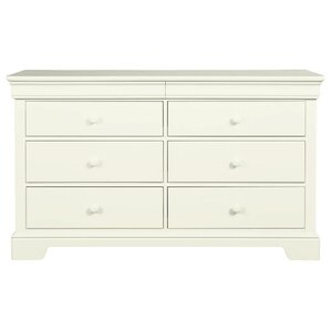 Teaberry Lane 6 Drawer Double Dresser With Mirror by Stone & Leigh? by Stanley Furniture