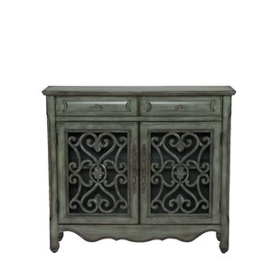 Eloisee 2 Drawer 2 Door Accent Cabinet by Bungalow Rose