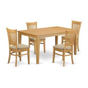 Smyrna 5 Piece Dining Set ..