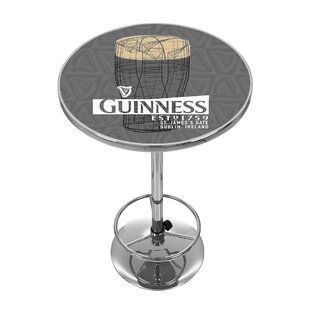 Guinness Line Art Pint Pub Table Trademark Global