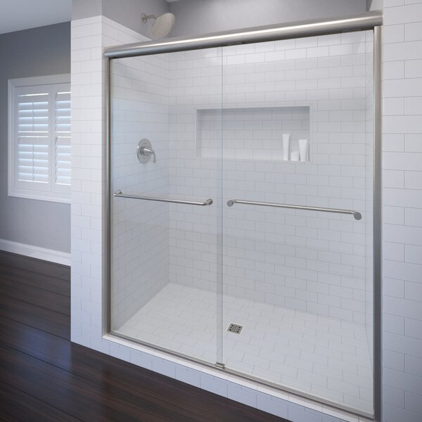 Basco Celesta 48 X 72 Frameless Bypass Sliding Shower Door Wayfair