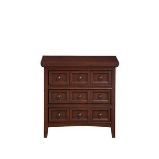 Inexpensive Princeton 3 Drawer Nightstand by Alcott Hill