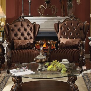 Welton Wingback Chair by Astoria Grand