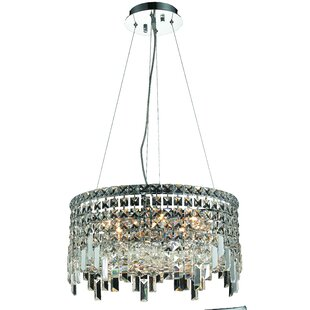 Langer 12-Light Crystal Chandelier by House of Hampton